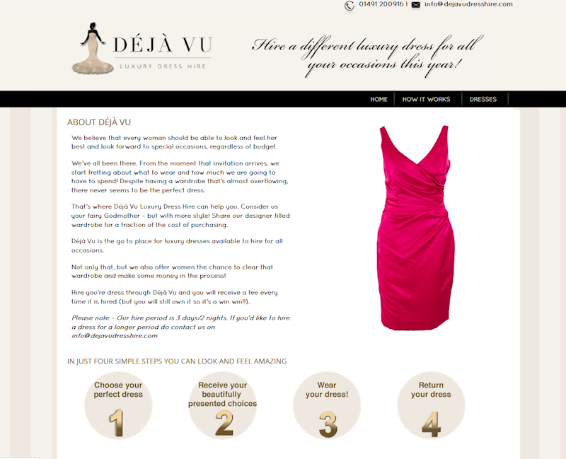 Deja Vu Dress Hire