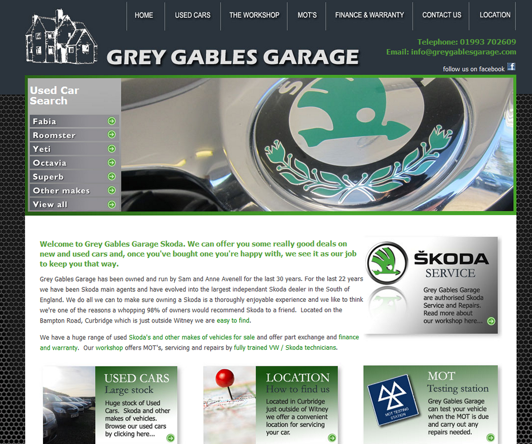 Grey Gables Garage