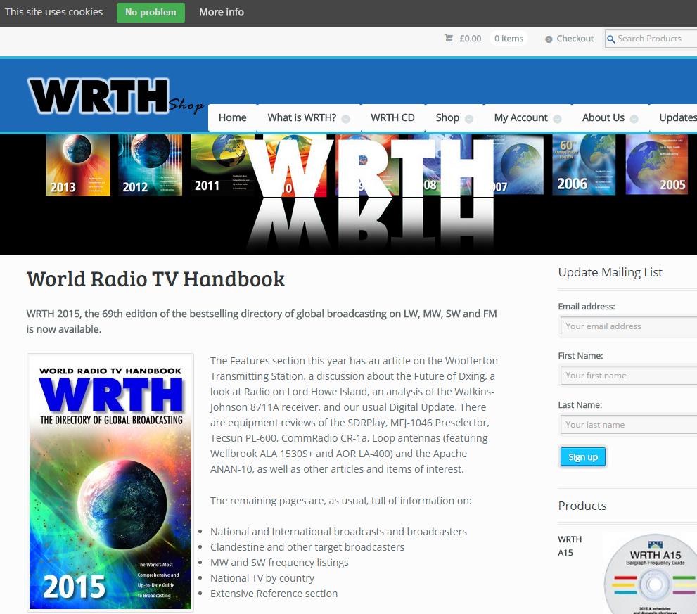 WRTH Shop